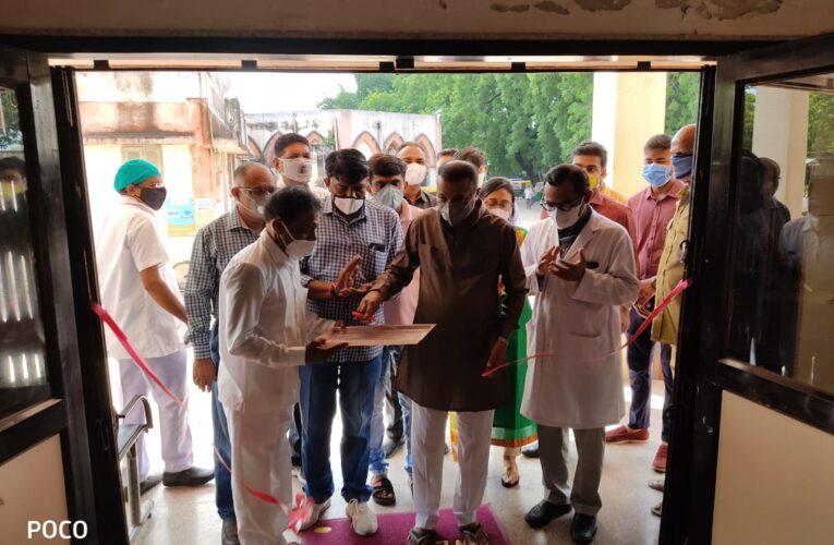 Gondal-Rajkot ગોંડલ સરકારી દવાખાને ૫૫ બેડની સુવિધા સાથે કોવિડ હોસ્પિટલનો પ્રારંભ.