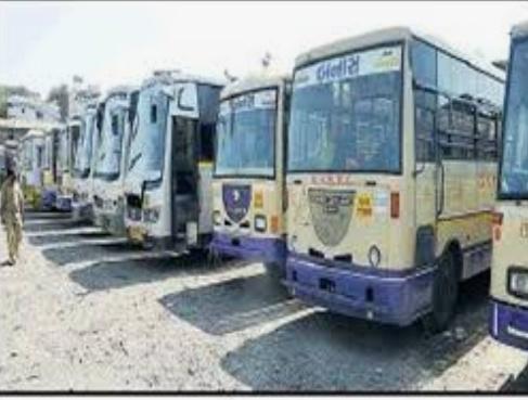 Gondal-ગોંડલ એસ ટી દ્વારા સોમવાર થી ગામડાઓમાં બસો દોડાવાસે.
