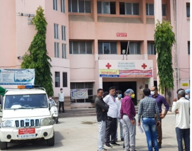 Dhoraji-Rajkot રાજકોટ જીલ્લાના ધોરાજીમાં 70 બેડની મંજૂરી પણ હાલ 35 બેડ ચાલુ કરાશે ડે.કલેક્ટર મીયાણી.