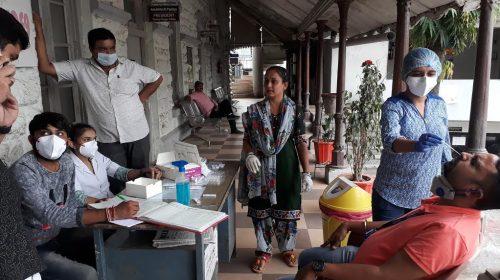 Gondal-Rajkot ગોંડલ નગરપાલિકાના સ્ટાફનું કોરોના ટેસ્ટીંગ: ૧૦૮ લોકોમાંથી ૩ ને પોઝીટીવ.
