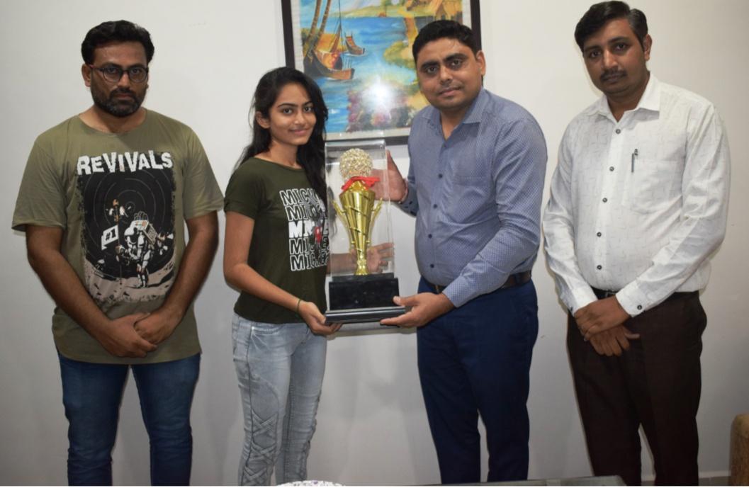 Gondal-Rajkot ગોંડલની ગંગોત્રી સ્કૂલની વિદ્યાર્થીની ડોબરીયા સુમન NEET-2020 પરિણામમાં ગોંડલ તાલુકામાં પ્રથમ.