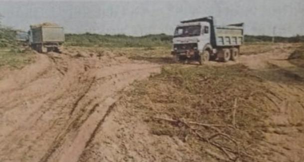 Halvad-Morbi અજીત ગઢ ગામે ખનીજ ચોરી બંધ કરવા મામલે ગામના મહિલા સરપંચ એ ખાણ ખનીજ વિભાગને લેખિતમાં આવેદનપત્ર આપ્યું