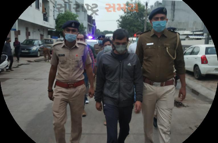Gondal-Rajkot ગોંડલમાં નિખિલ દોંગા અને તેના બે સાગરીતોનું જિલ્લા પોલીસ વડા બલરામ મીણા ની હાજરીમાં રીકન્સ્ટ્રક્શન પંચનામું કરવામાં આવ્યું.