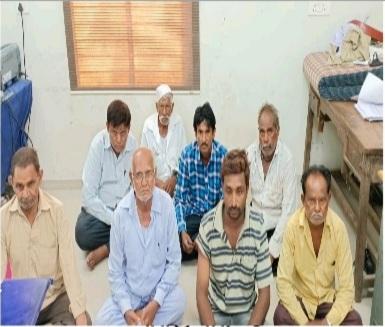 Dhoraji-Rajkot જુગારનો ગણના પાત્ર કેશ શોધી પાડતી ધોરાજી પોલીસ.