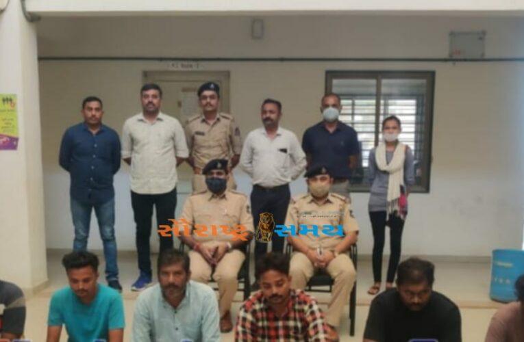 Gondal -Rajkot ગોંડલમાં રાજકોટની મહિલા ઉપર સામુહીક દુષ્કર્મની ઘટનામાં પોલીસે છ શખ્સો ને ઝડપી લીધા.